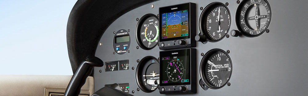 Garmin G5 Dual Electronic Flight Instruments